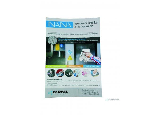 Speciální útěrka z nanovláken