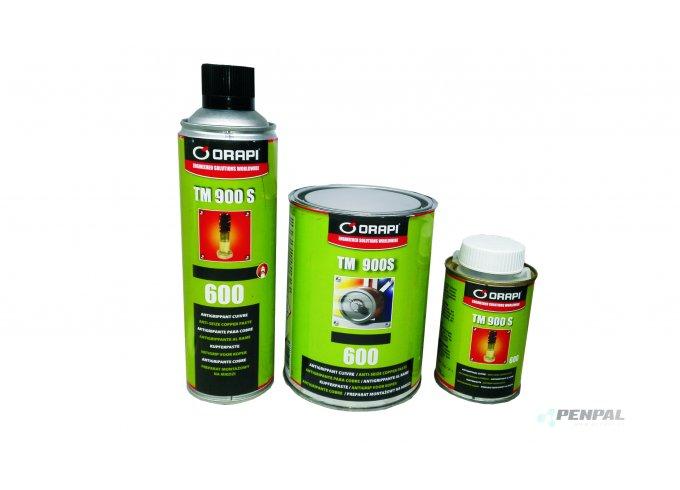 ORAPI - průmyslové prostředky proti zadírání v anorganickém nosiči